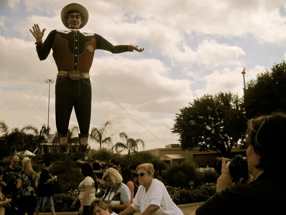 """Big Tex & Me"" - courtesy of April"