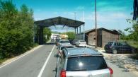 Anfahrt zur Grenze