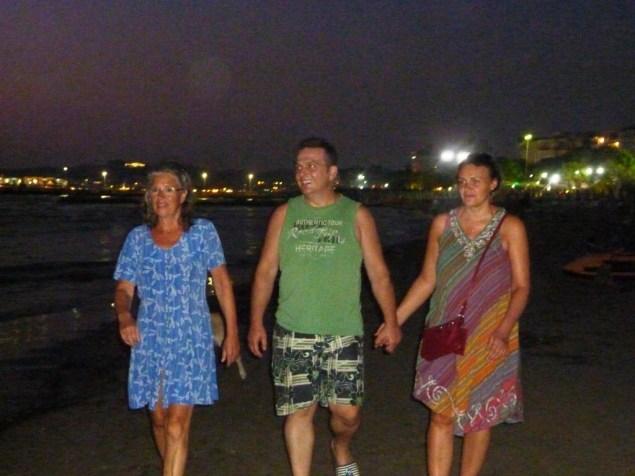Feierabend am Strand