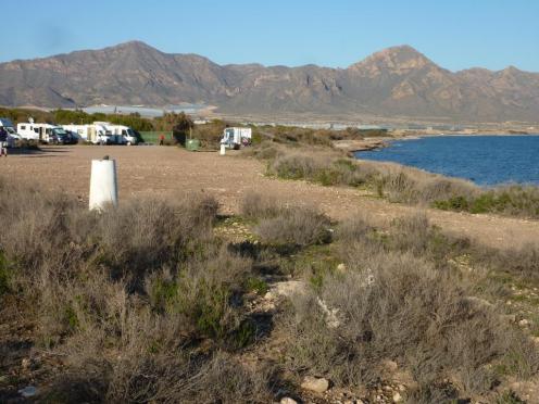 Von der Waterline bis 30 m dahinter Natruschutzgebiet