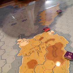 6th Cartho navy stalls, the Romans land in Sardinia to attempt to draw fire.