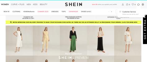 shein page