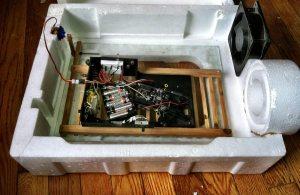 Inside the Automatic Egg Incubator
