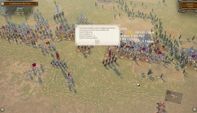 Field of Glory II: Immortal Fire