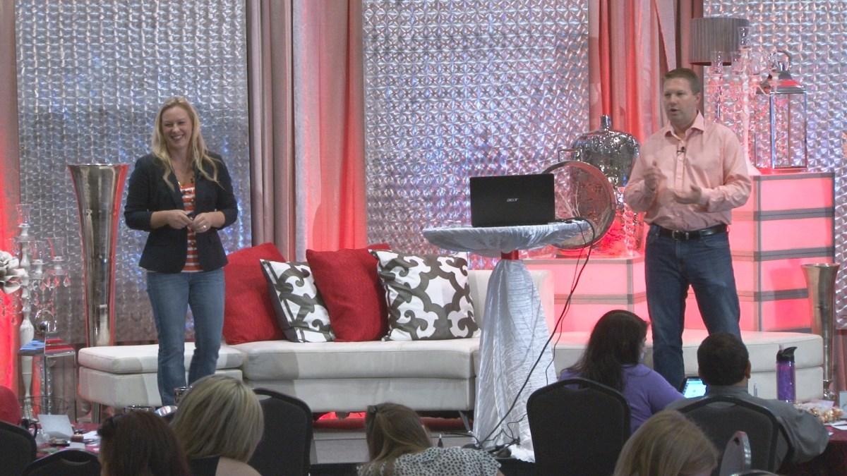 Shea & Cheryl Bailey speak at Wedding Market Expo - Austin 2014