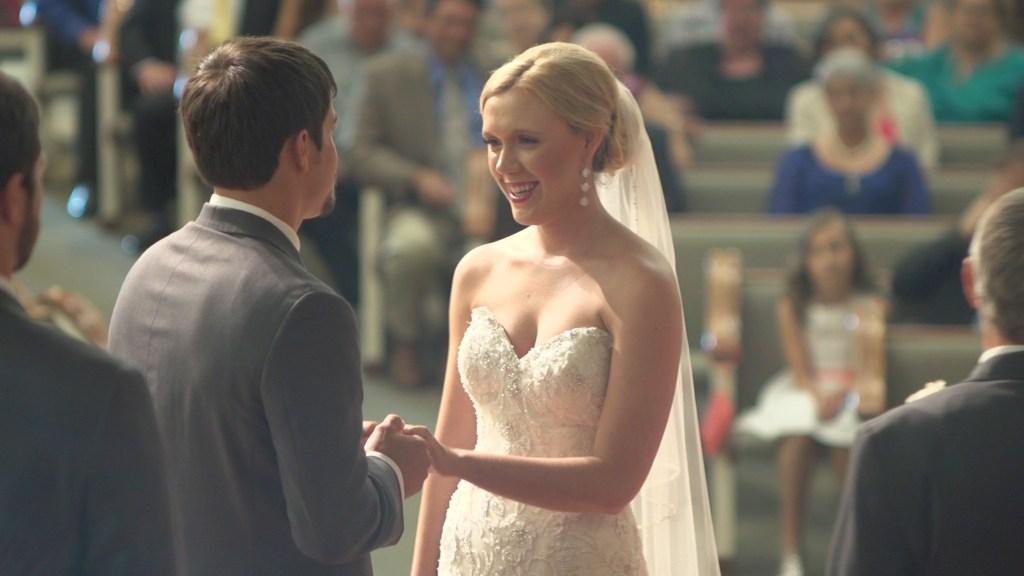 Bride and Groom - River Hills Baptist Church wedding