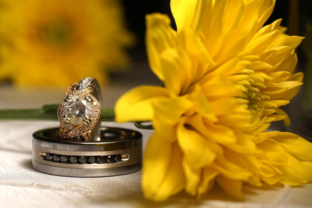 Kara Beth Wedding Rings at San Patricio County Fairgrounds