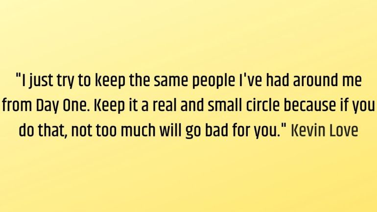 keep your circle small quotes Images