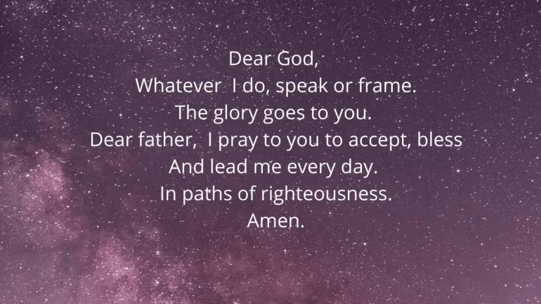Children's Morning Prayers Images