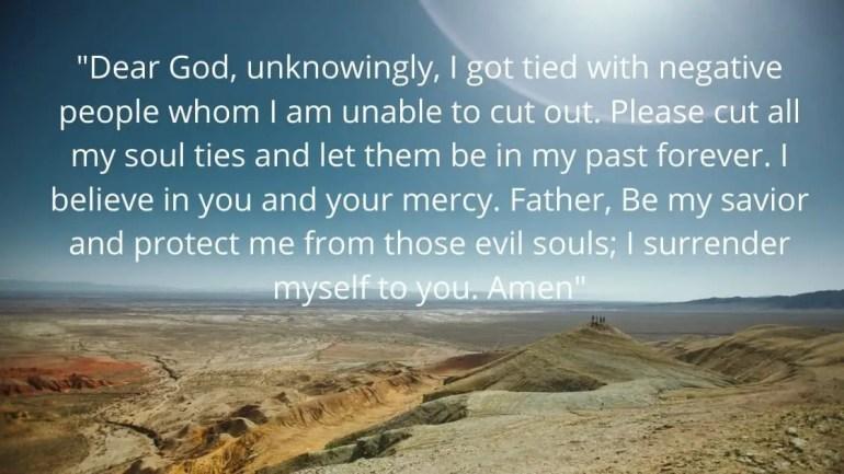 how to break soul ties prayer Images