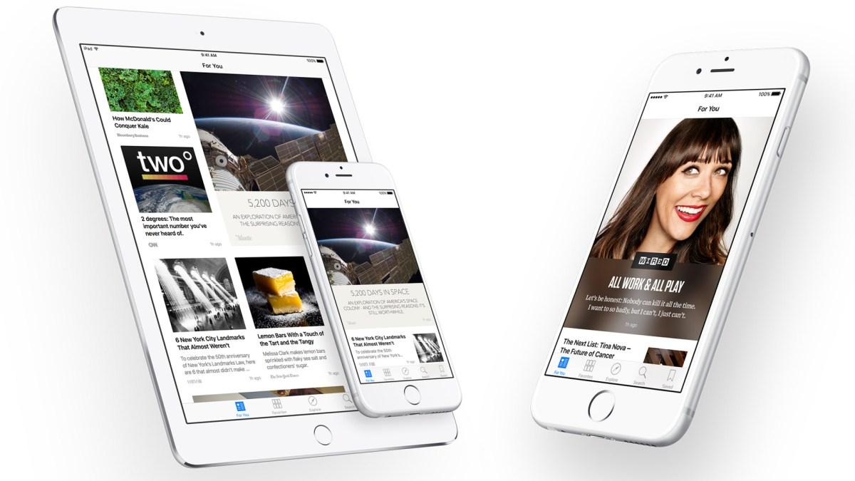 Как включить приложение News на iOS-гаджетах? — Big Break News