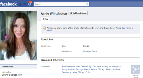 Annie Whittington FaceBook Page