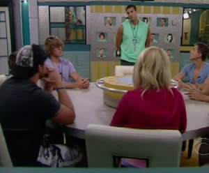 Big Brother 12 Nomination Ceremony (CBS)