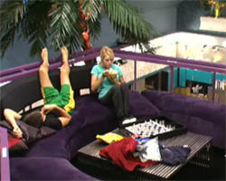 Ragan and Britney Big Brother 12