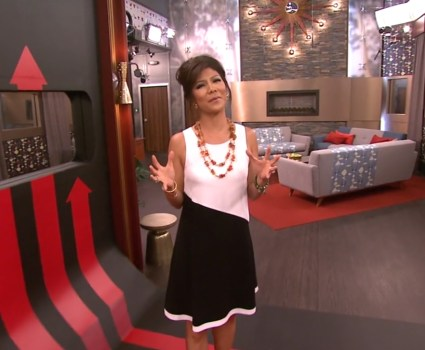 Big Brother 2013 House - Host Julie Chen