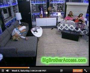 Big Brother 15 Week 8 Friday Feeds (23)