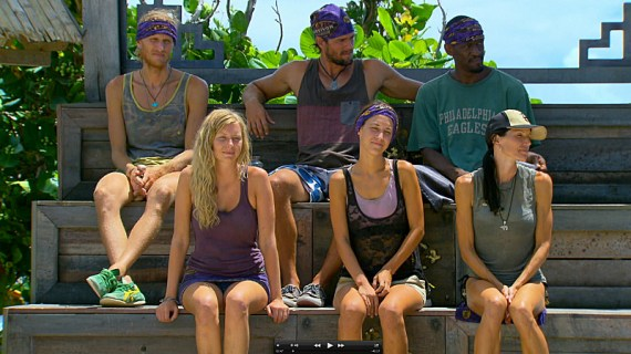 Survivor Blood vs Water Episode 12 - Source: CBS