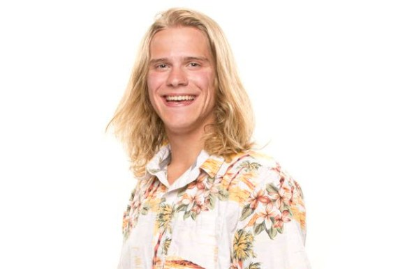 Big Brother 16 Houseguest Hayden Voss (CBS)