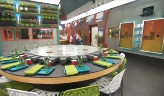 Big Brother 16 house dining room (CBS)