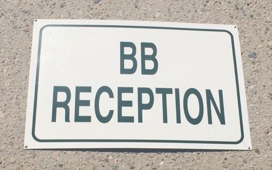 Big Brother 16 Reception Sign