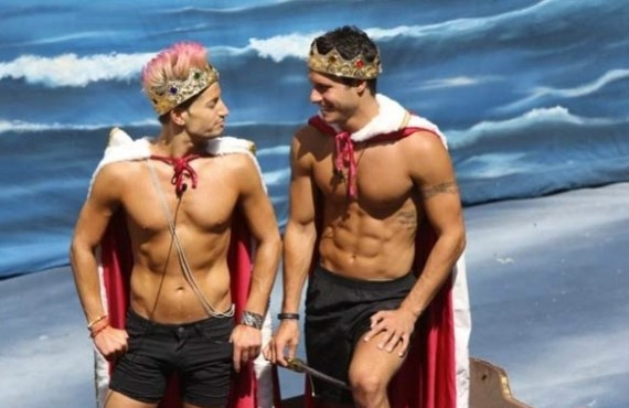 Big Brother Houseguests Frankie and Cody (CBS)