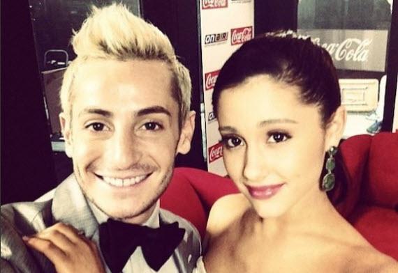 Frankie Grande and Ariana Grande (Instagram)