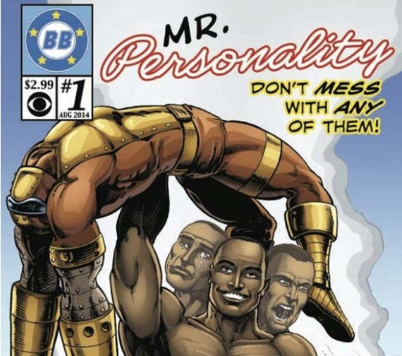 Big Brother 16 Devin comic book cover (CBS)