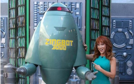Big Brother 2014 Zingbot & Kathy Griffin (CBS)