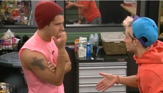 Big Brother 2014 cast - Cody & Frankie (CBS)