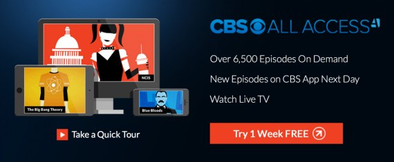 CBS All Access Pass