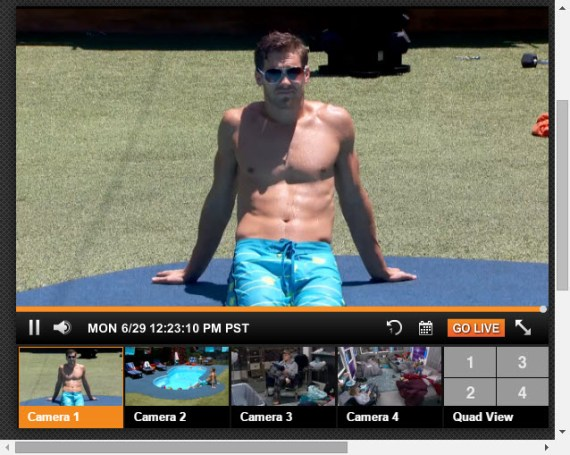 Big Brother Live Feeds 6-29-2015 1