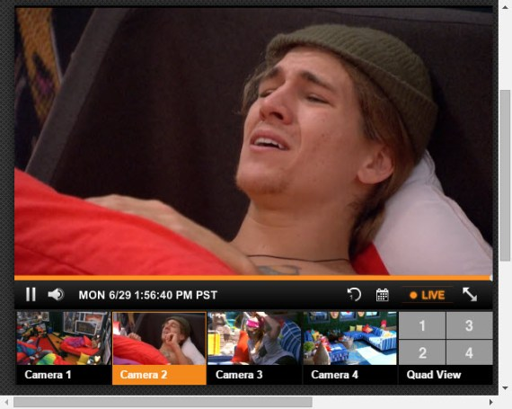 Big Brother Live Feeds 6-29-2015 2