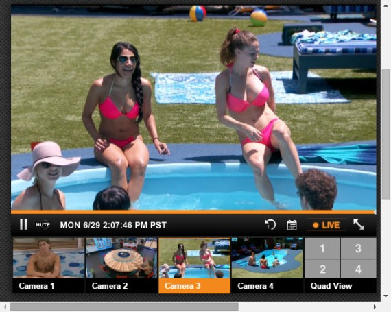 Big Brother Live Feeds 6-29-2015 4