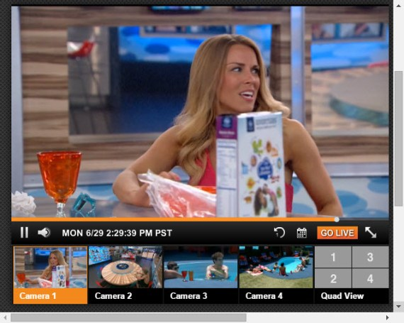 Big Brother Live Feeds 6-29-2015 5