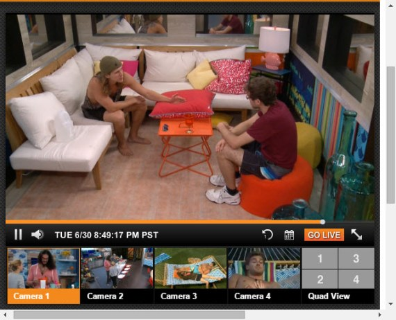 Big Brother Live Feeds 6-30-2015 2