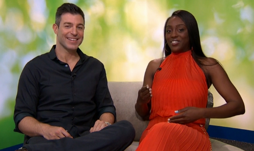 Jeff's interview with Da'Vonne (CBS)