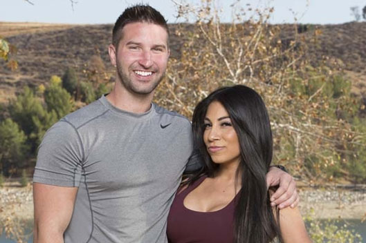 Jeff and Jackie on The Amazing Race (CBS)