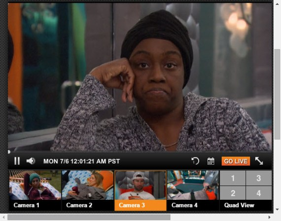 Big Brother 17 Live Feeds 7-30-2015 3
