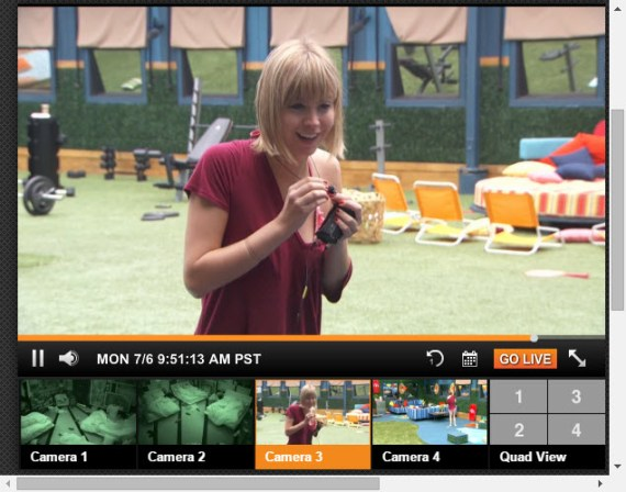 Big Brother 17 Live Feeds 7-30-2015 7