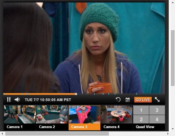 Big Brother 17 Live Feeds 7-7-2015 1