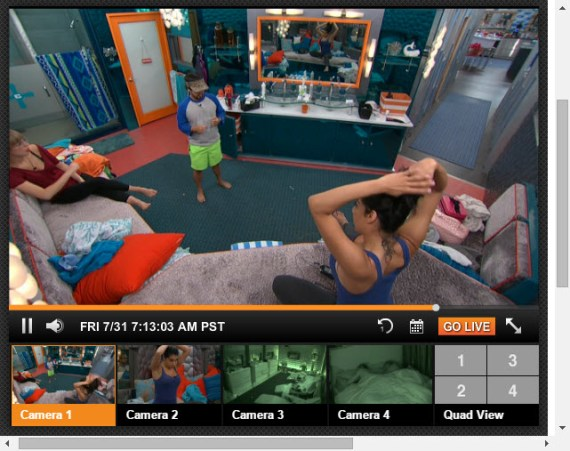 Big Brother 17 Live Feeds July 30 2015