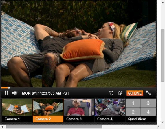 Big Brother Live Feeds August 17 (3)