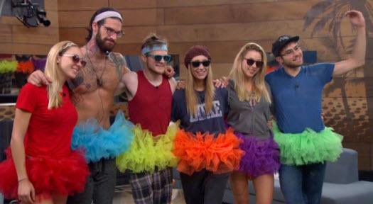 Big Brother 17 Top 6 (CBS)