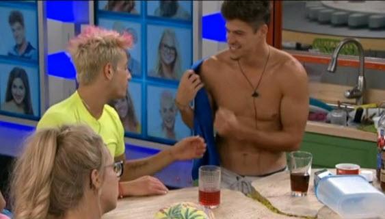 Big Brother stars Frankie Grande & Zack Rance (CBS)
