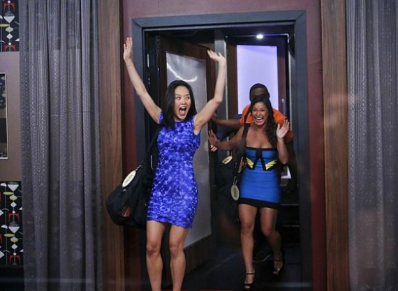 Big Brother - Houseguests Helen and Jessie enter the house (CBS)