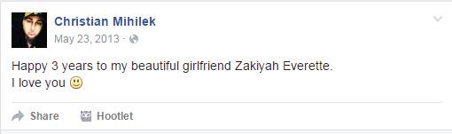 Zakiyah Everette Boyfriend