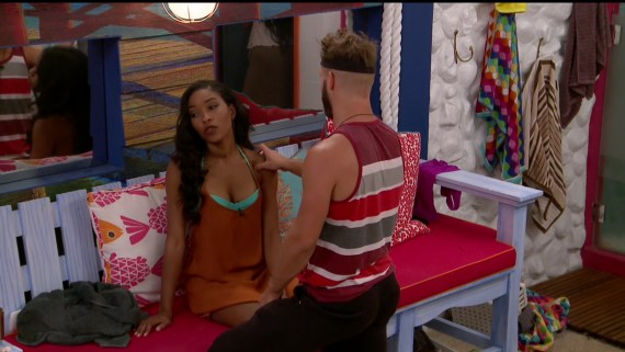 Big Brother-Zakiyah and Paulie