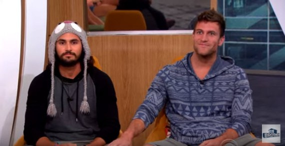 Big Brother 18's Victor Arroyo & Corey Brooks (CBS)