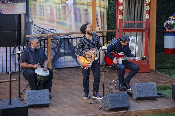 Big Brother 18 Ziggy Marley (Photo Courtesy of CBS)</center