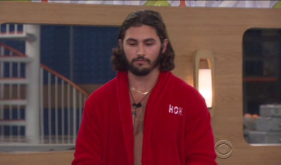 Head of Household, Victor Arroyo (courtesy of CBS)